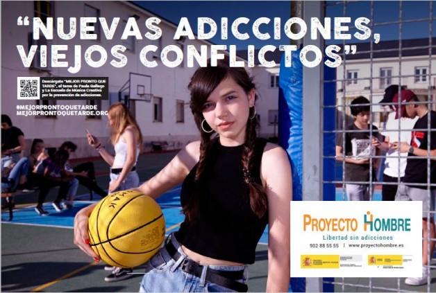 """""""Mejor pronto que tarde"""", la nueva campaña de Proyecto Hombre para adolescentes"""