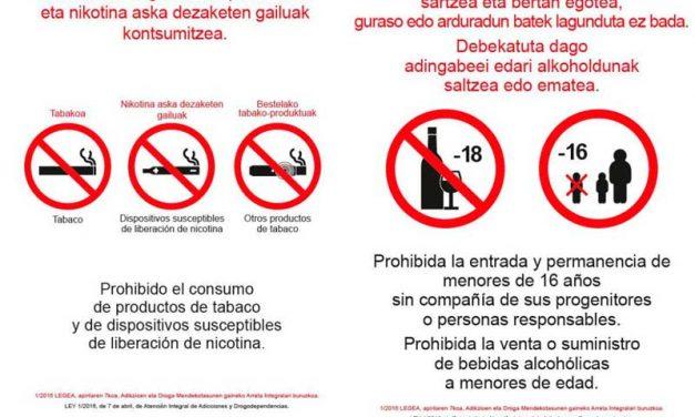 País Vasco (España): Estas son las señales que prohibirán la entrada de menores a los bares